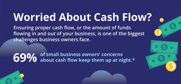 Worried about cash flow?